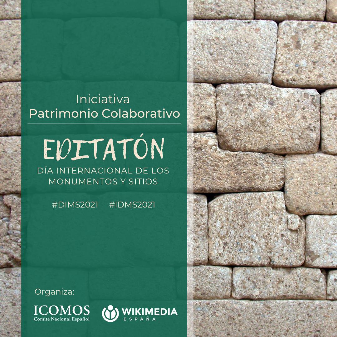 Editatón Patrimonio Colaborativo @ Wikipedia