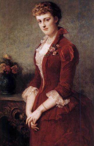 Edith Wharton by Edward Harrison May