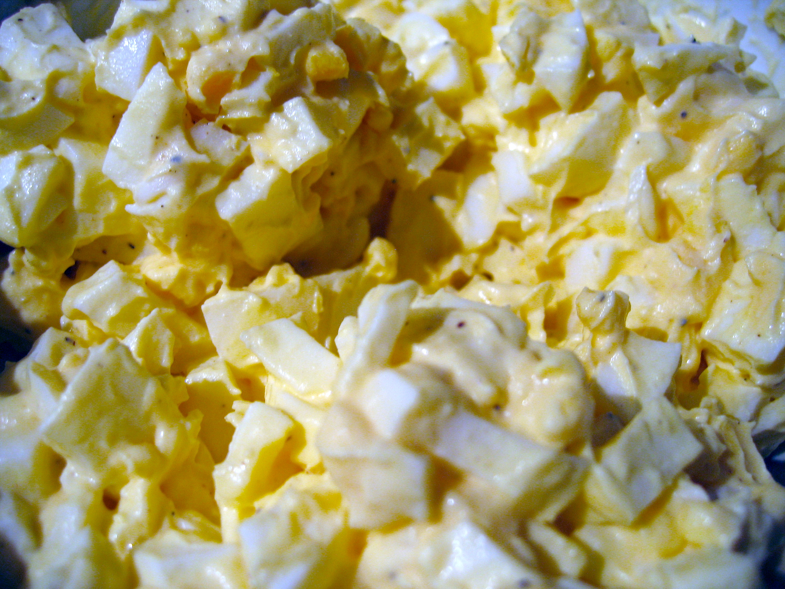 how to make egg salad 2 eggs