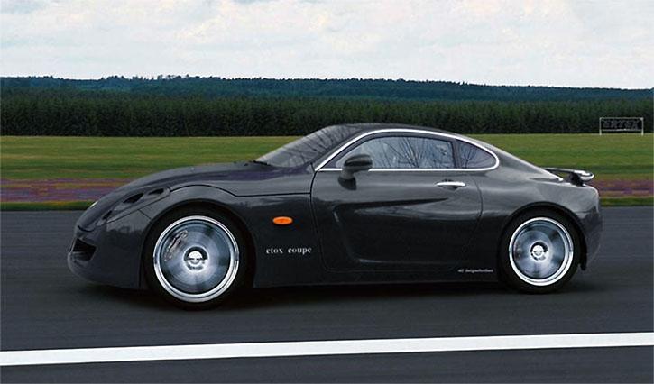 اتومبیل اسپورت ETOX ZAFER ساخت ترکیه