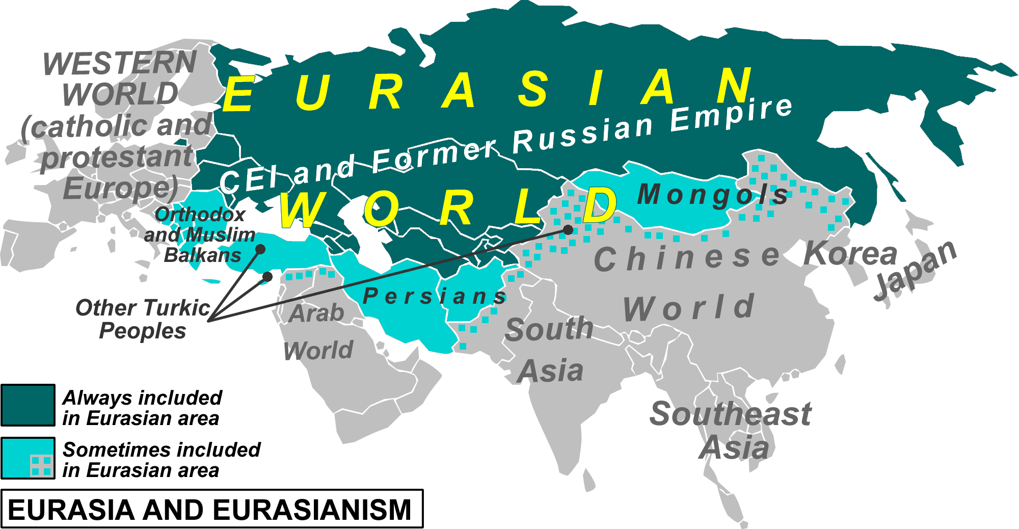 Image result for dugin russia map