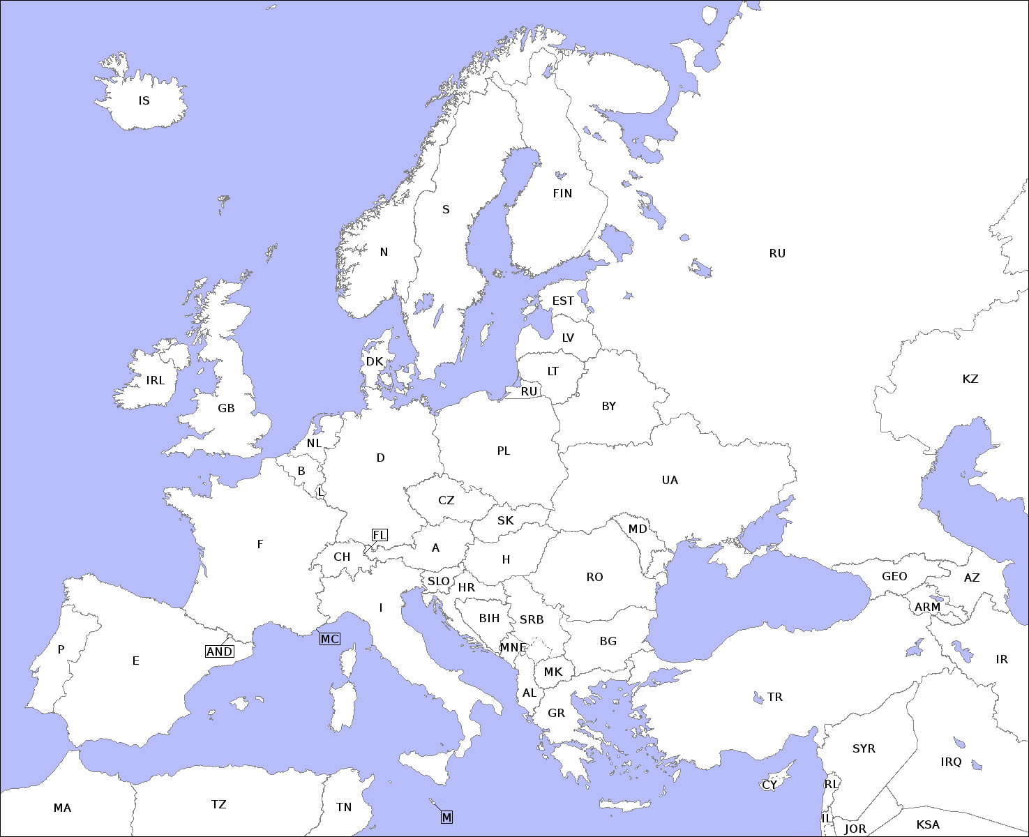 File:Europe countries map contours.png - Wikimedia Commons