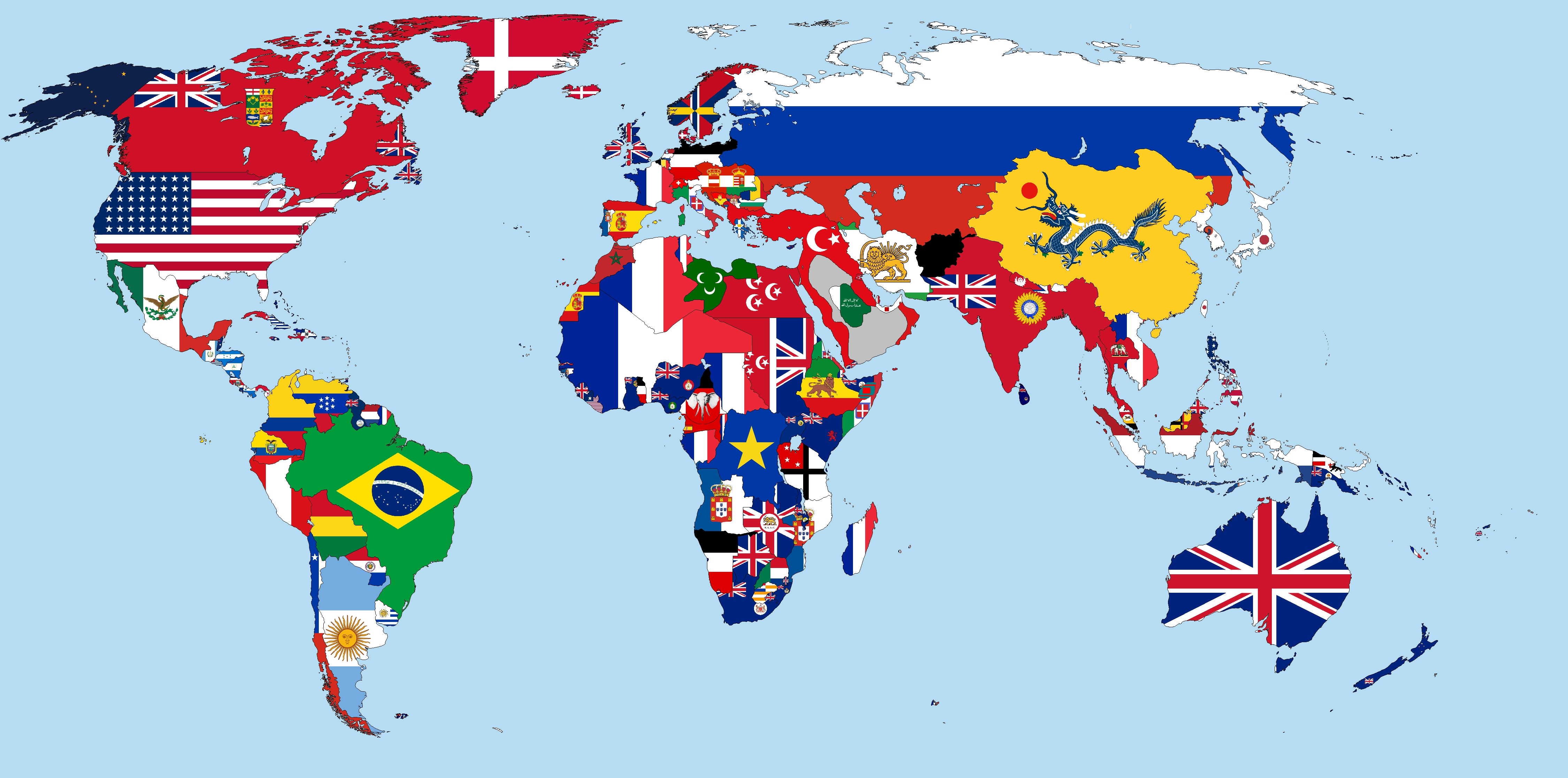 File:Flag-map of the world (1900).png - Wikimedia Commons
