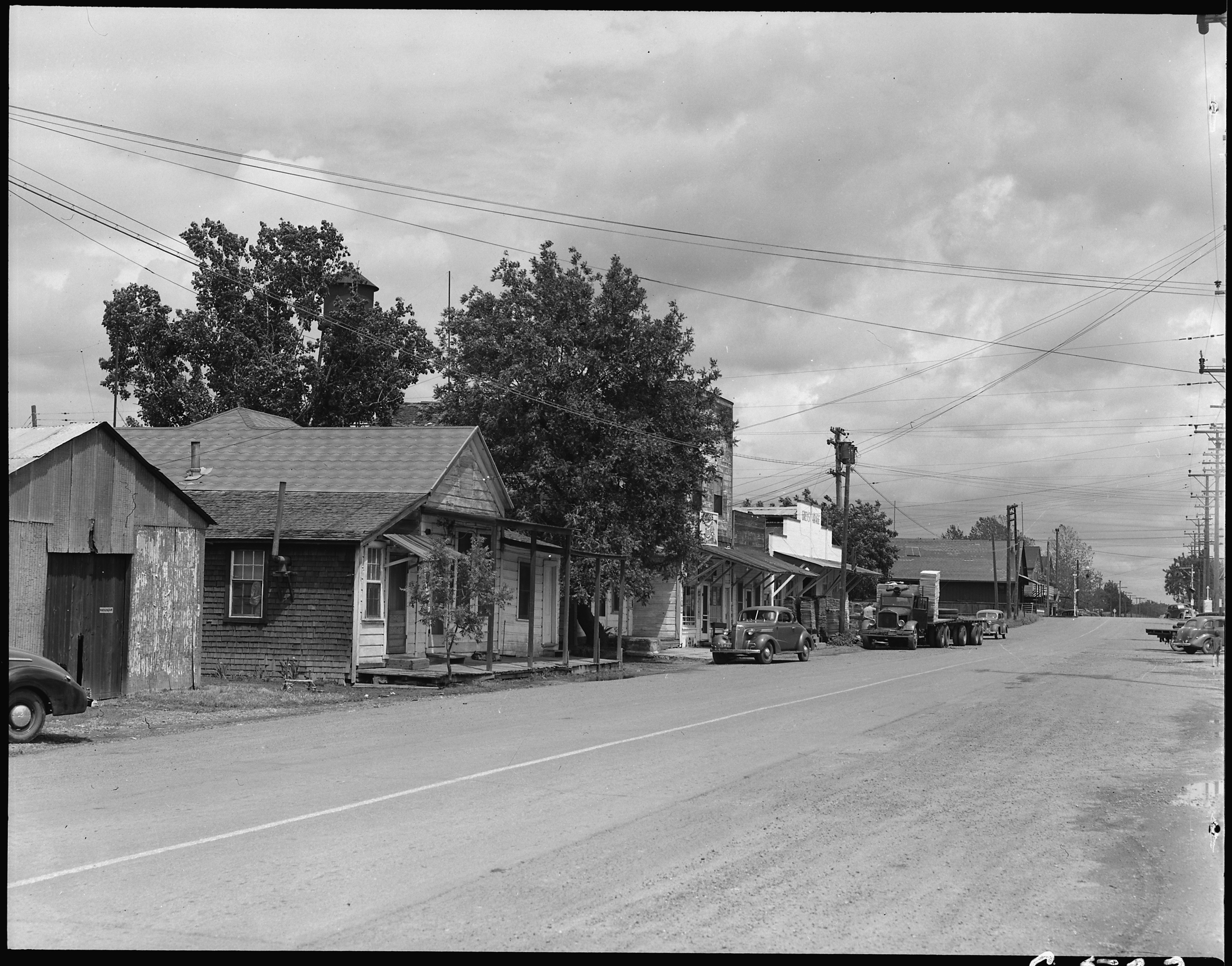 FileFlorin California Main Street of this small town in