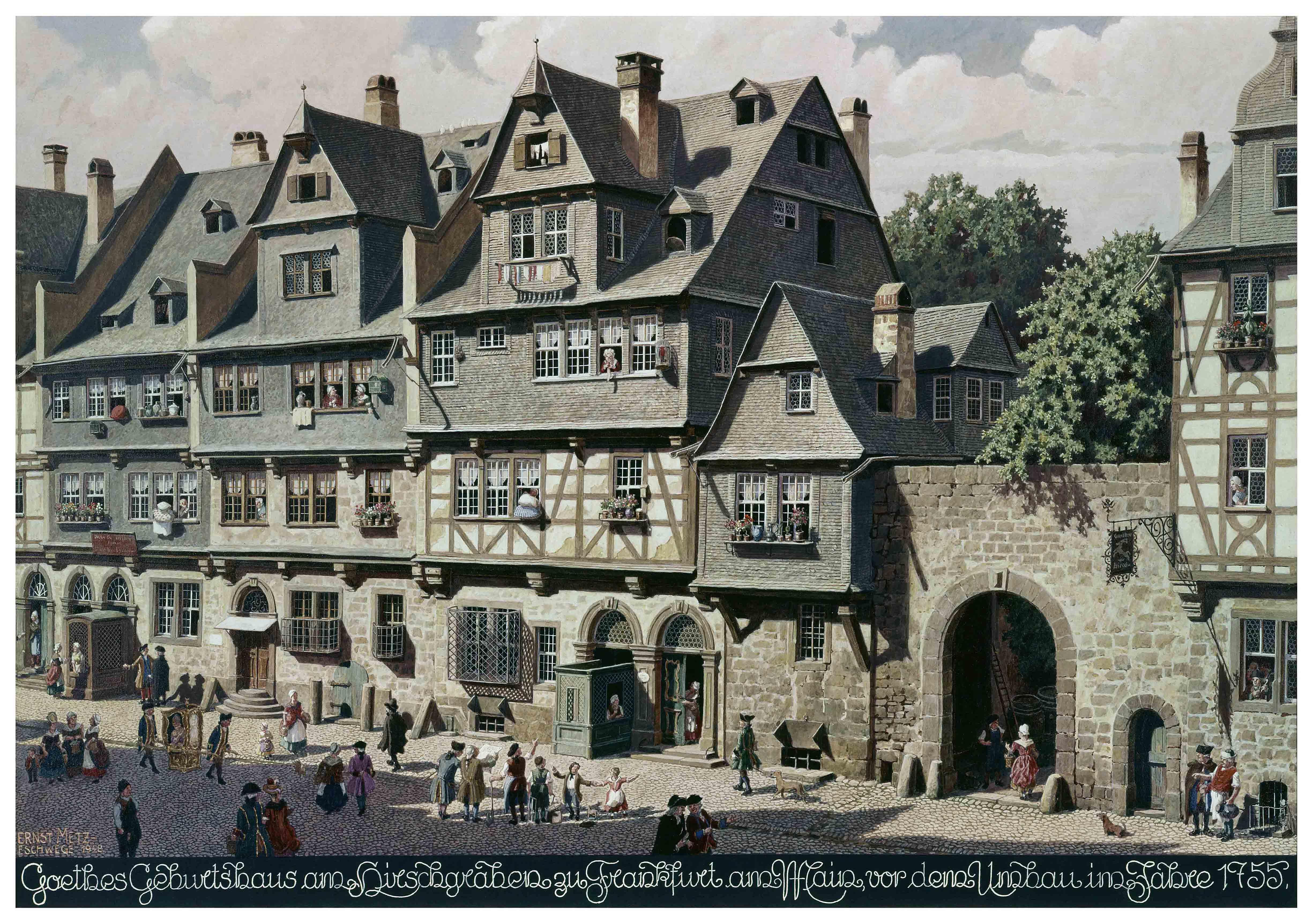 File Frankfurt Goethehaus vor 1755 Wikimedia mons