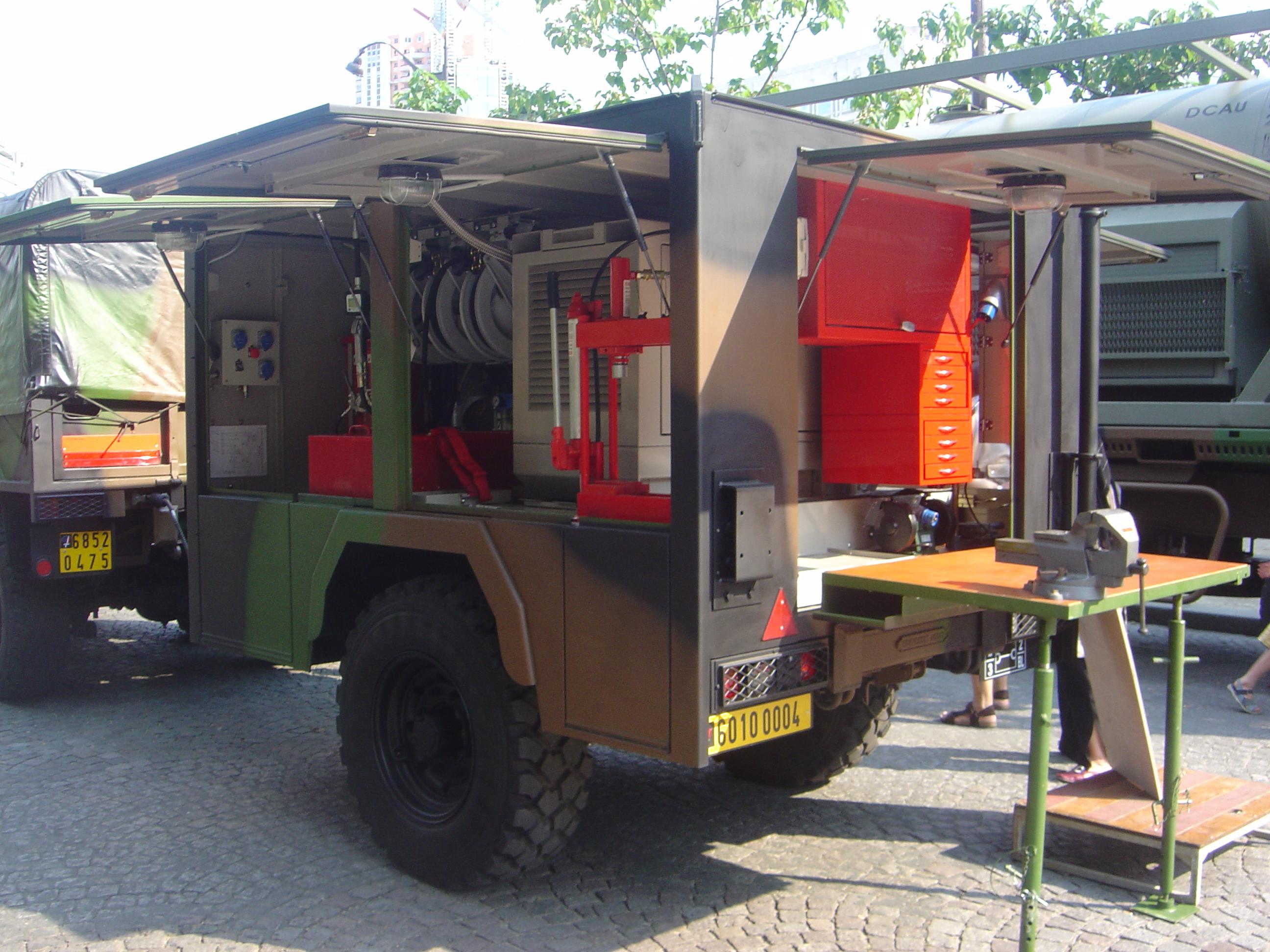 Mobile Workshop Mobile Workshop Dsc06855