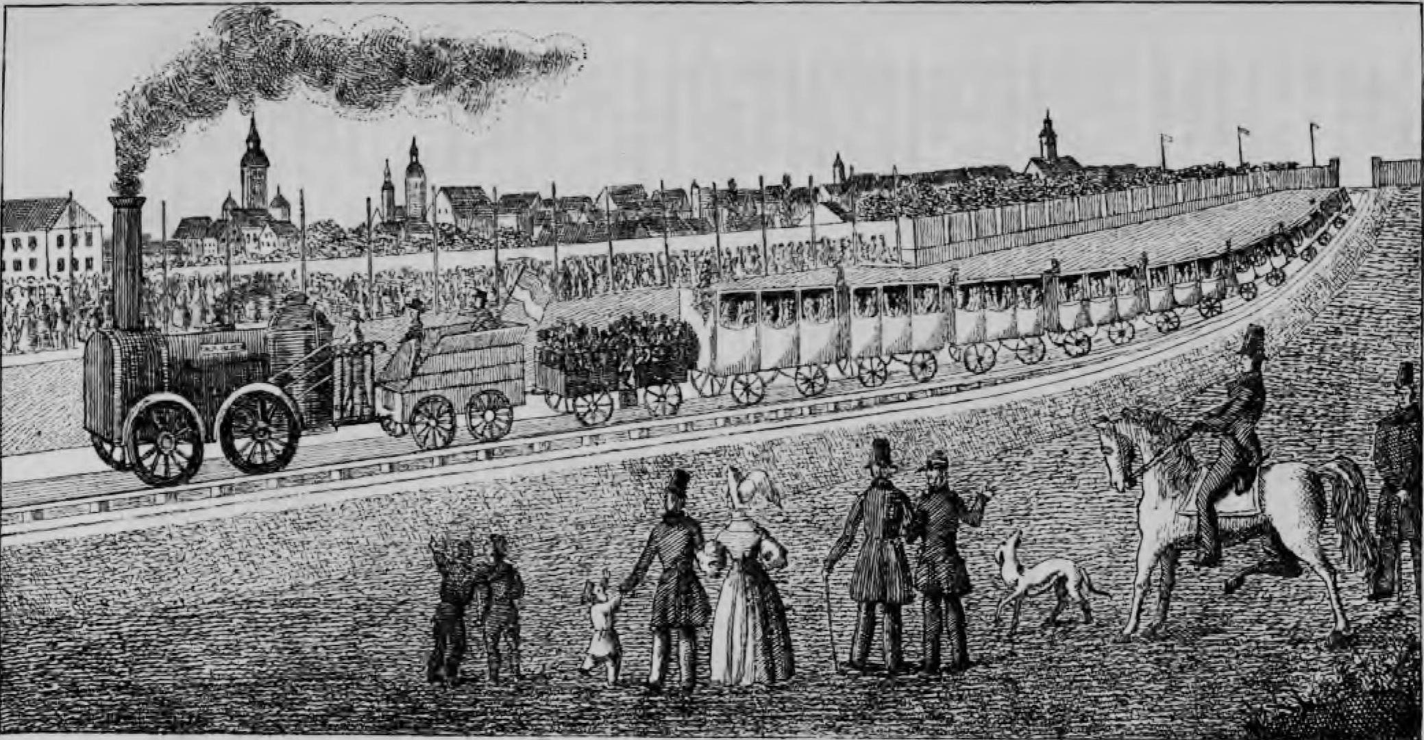 Friedrich List und die erste grosse Eisenbahn