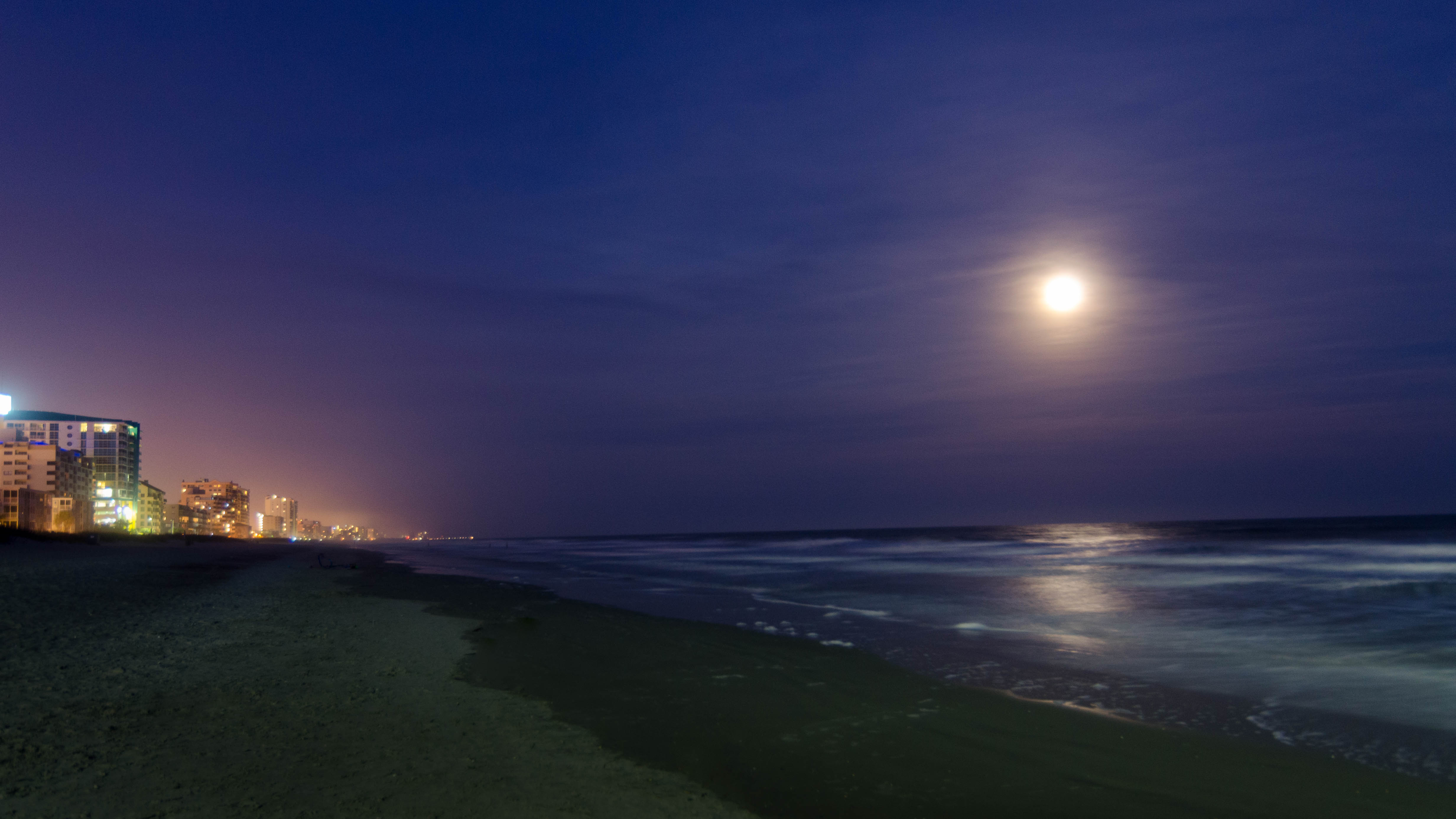 """One Gravitational Thing: Moon """"Wobble"""" Could Increase Coastal Flooding"""