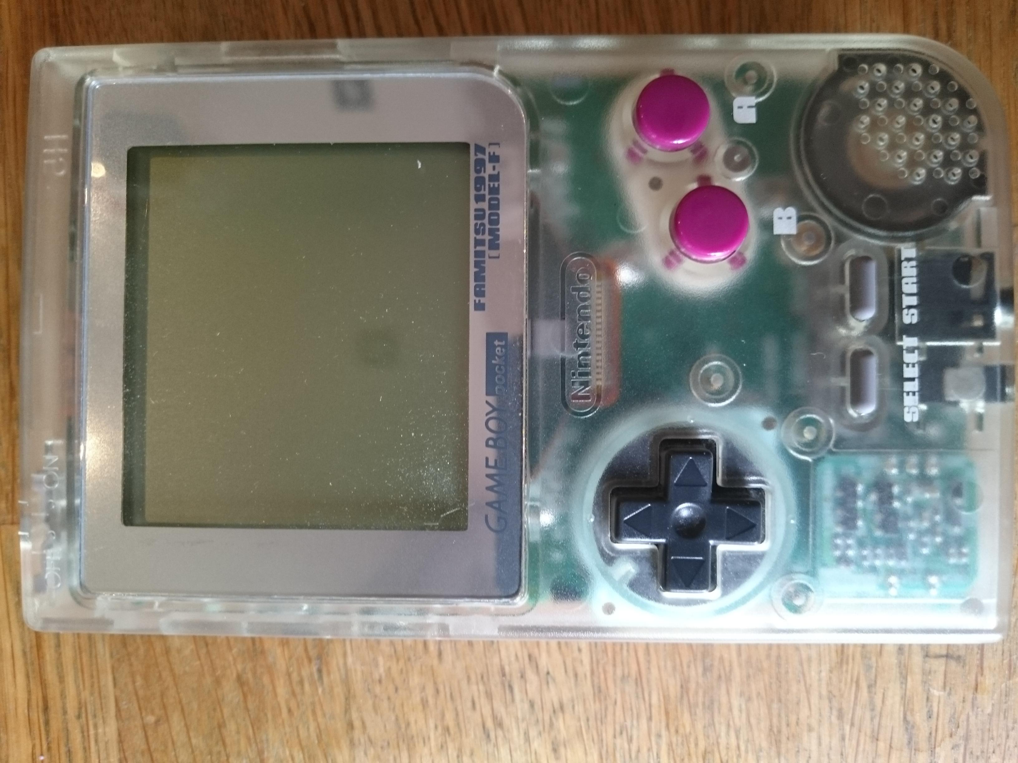 File:Gameboy Pocket Model F Famitsu edition 1997 jpg - Wikimedia Commons
