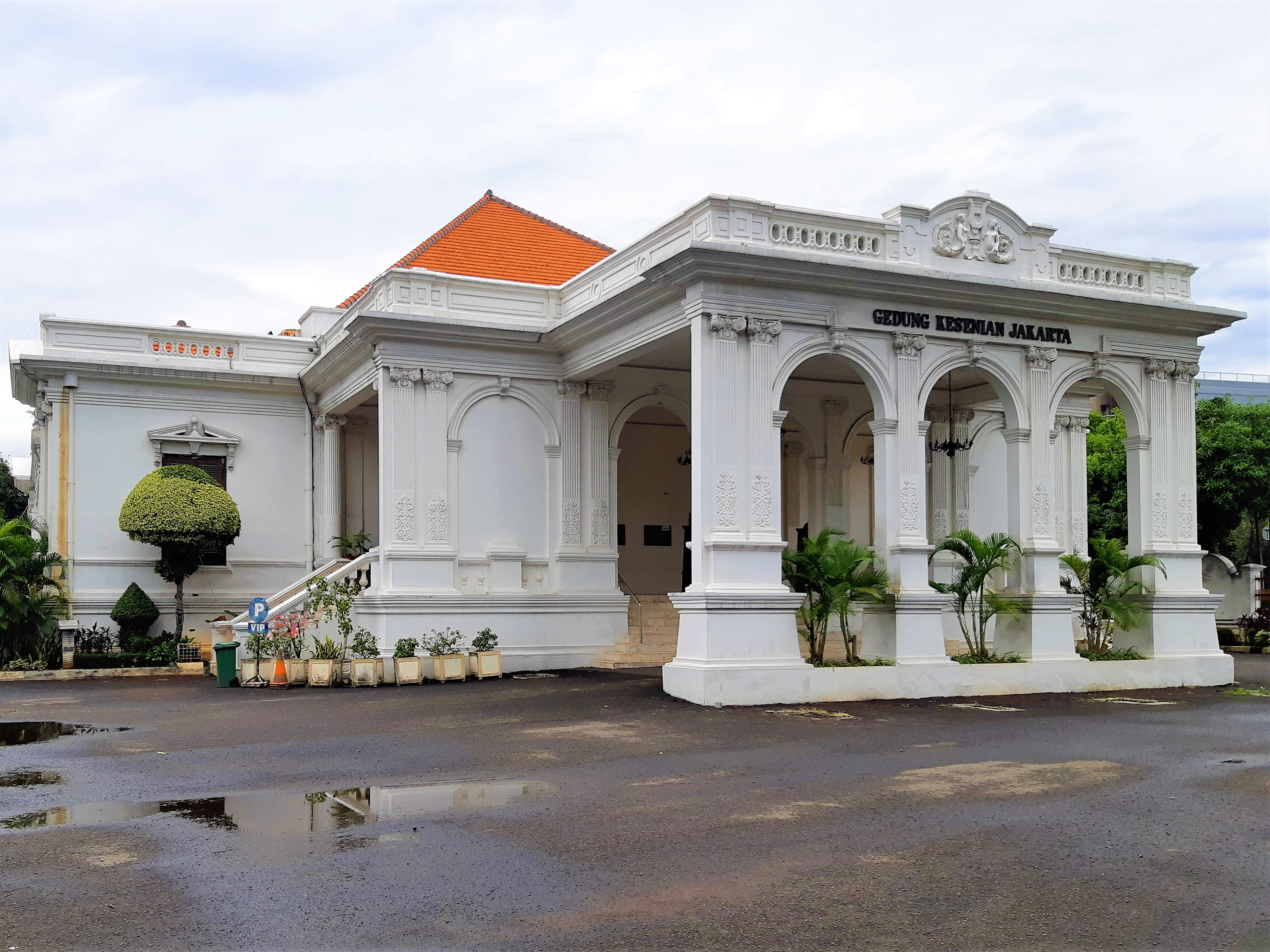 Gedung Kesenian Jakarta Wikipedia Bahasa Indonesia Ensiklopedia Bebas