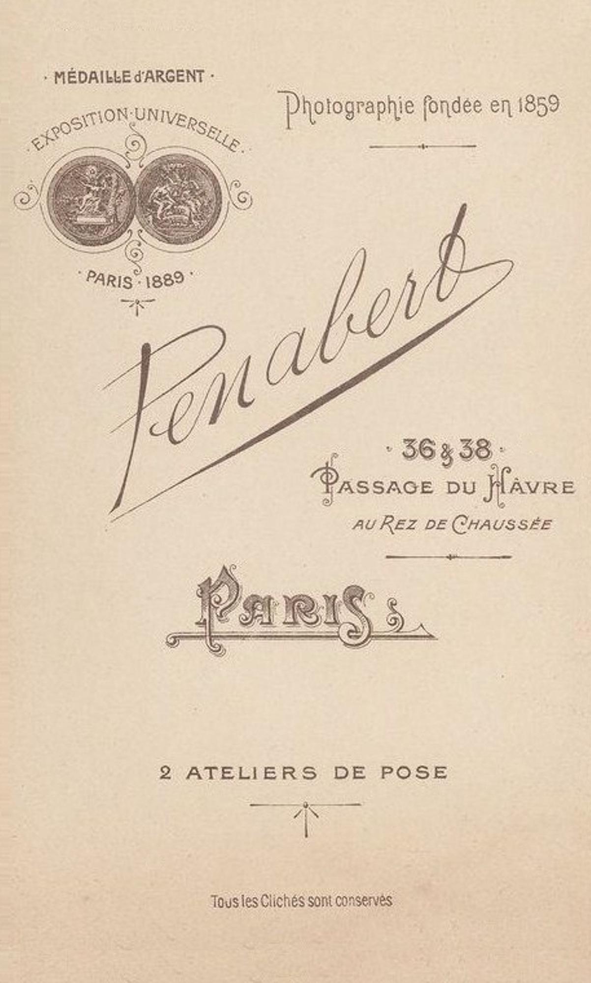 FichierGeorges Penabert 1825 1903 Cartes De Visite 020