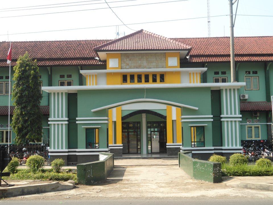 Deskripsi gerbang sekolah smk negeri 1 bawang