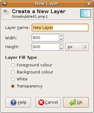 how to add colour to background in gimp