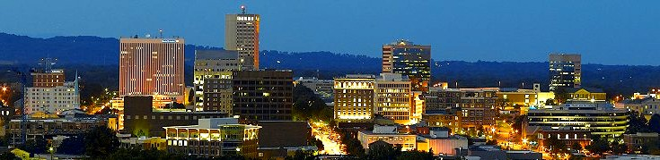 Greenville, SC skyline