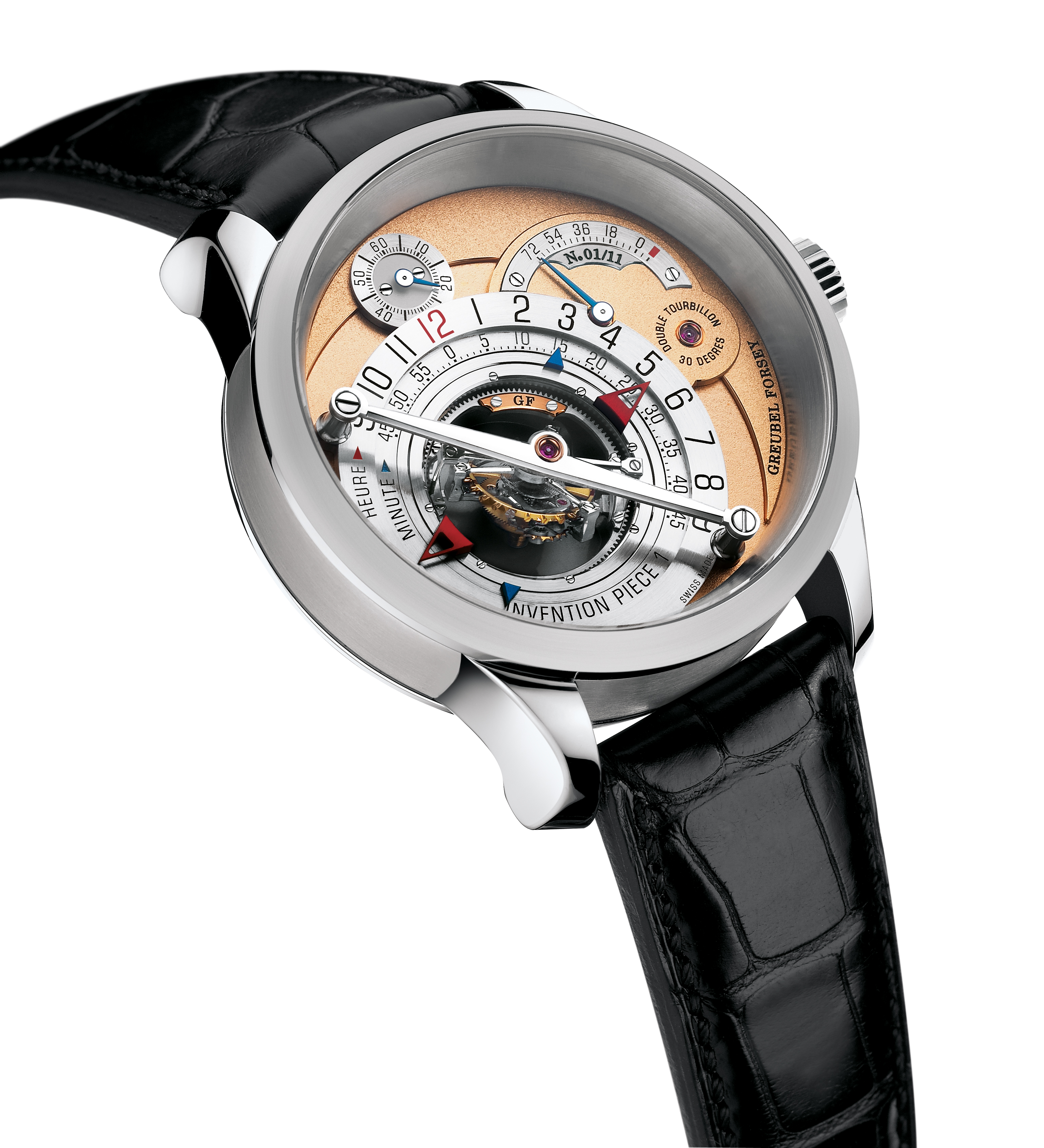 Greubel Forsey GMT Greubel_Forsey_Invention_Piece_1