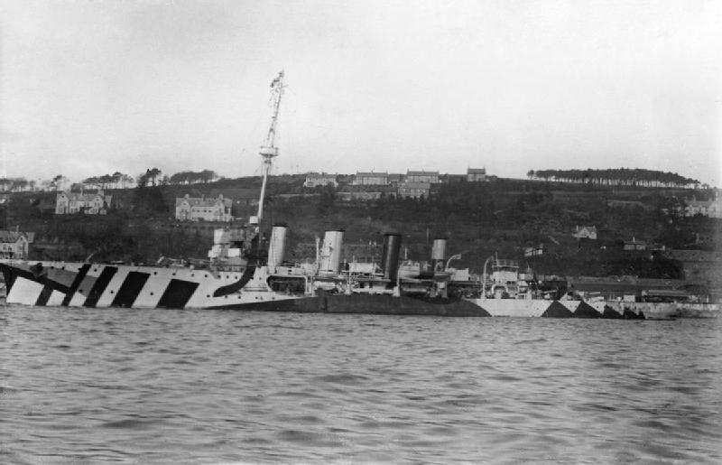 HMS Active 1917