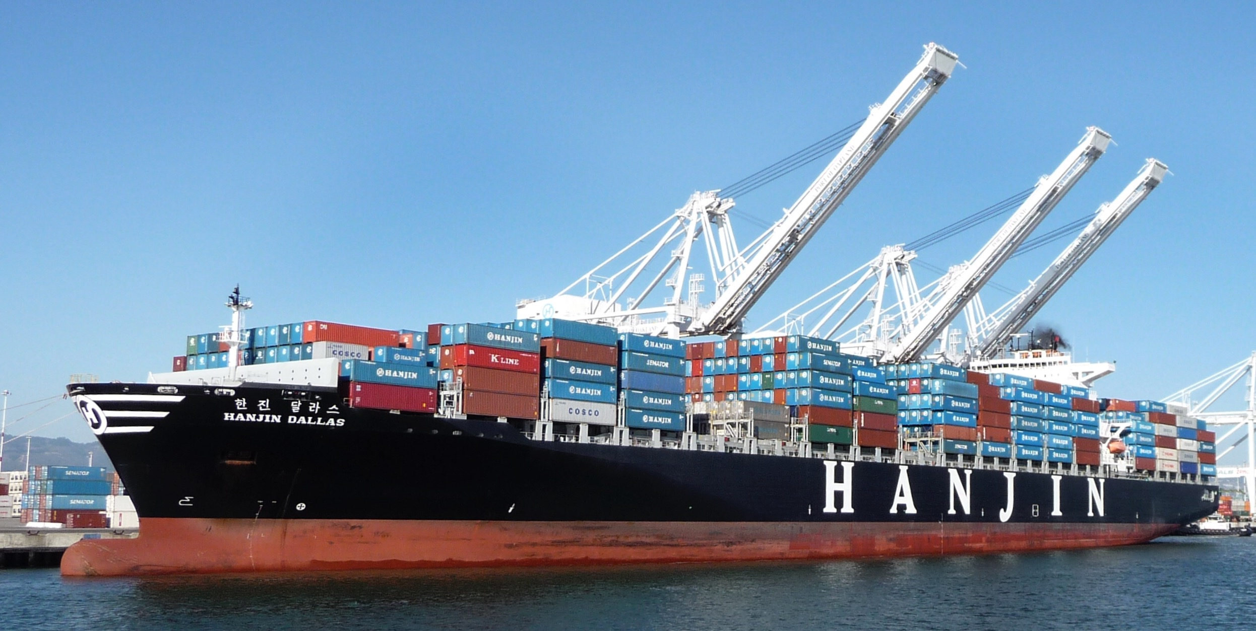 File hanjin container wikimedia commons for Motor cargo freight company