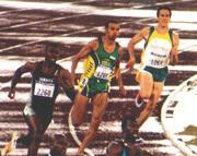 Sanderlei Parrela Brazilian sprinter