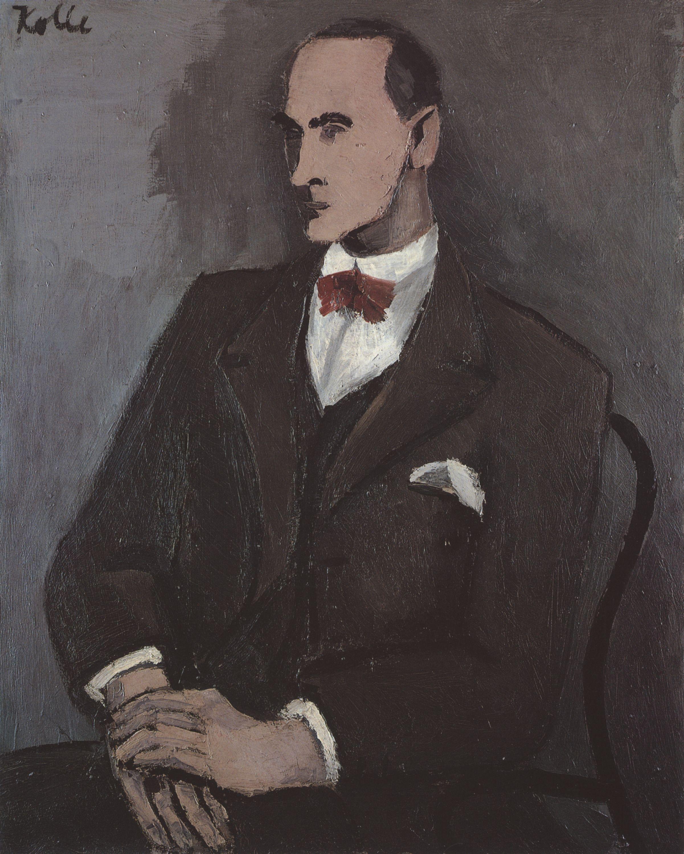 Wilhelm Uhde le découvreur (1874-1947) Helmut_Kolle-Wilhelm_Uhde-portrait