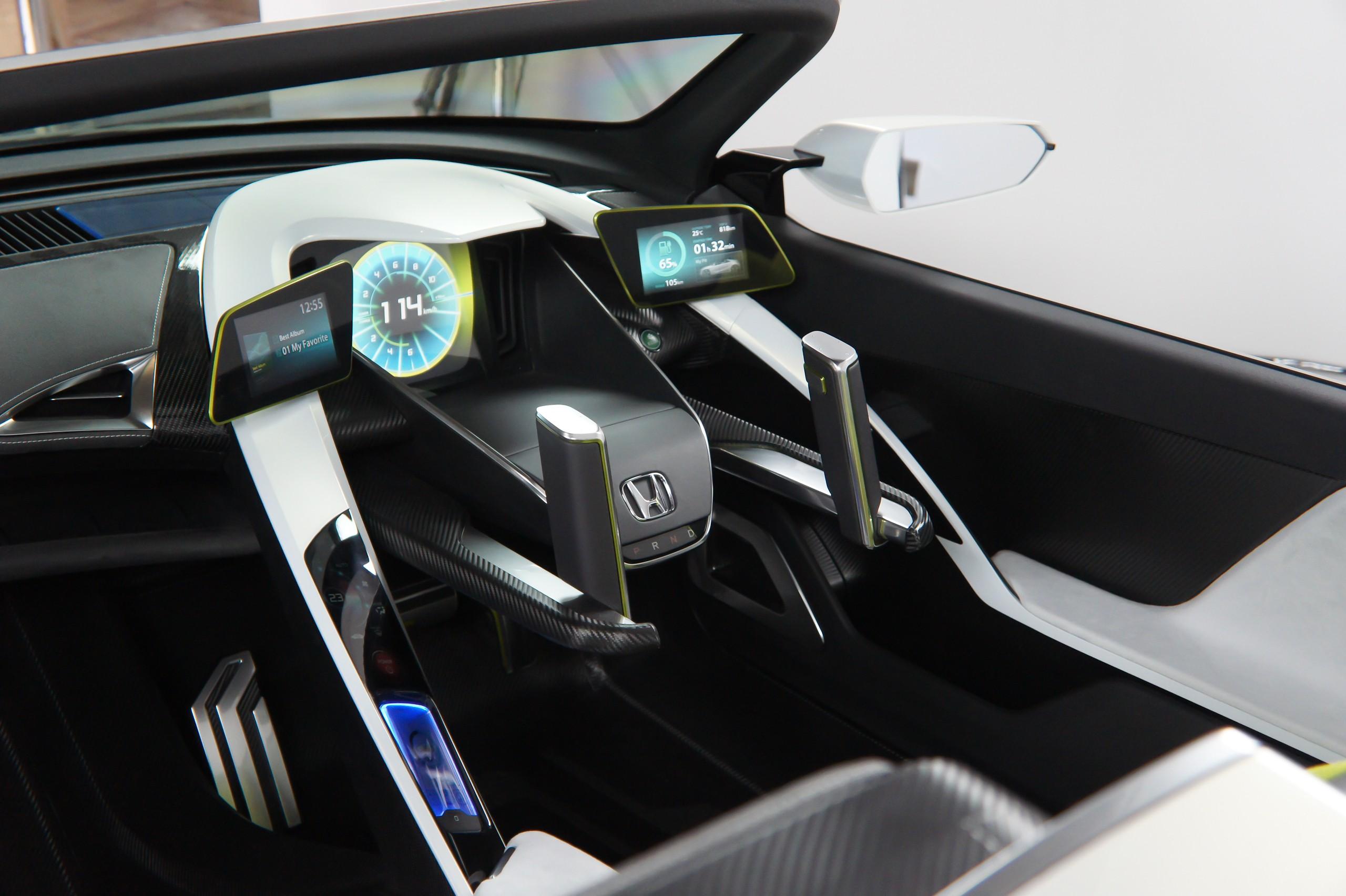 File:Honda EV-STER cockpit 2012 Tokyo Auto Salon.jpg - Wikimedia ... | {Auto cockpit 13}
