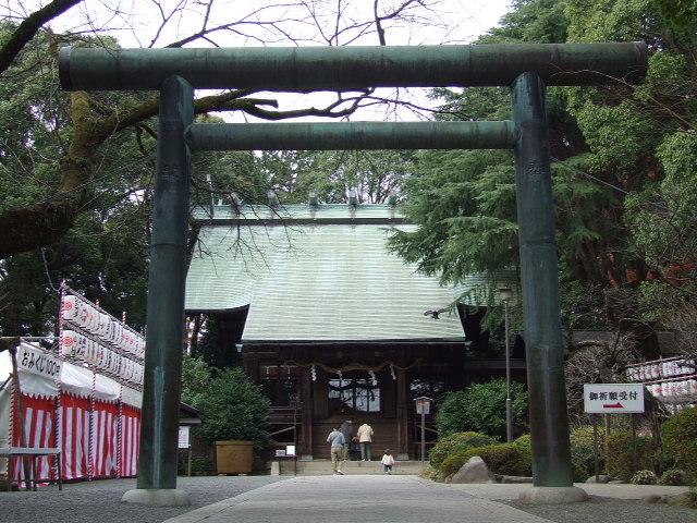 報徳二宮神社で御朱印をもらう