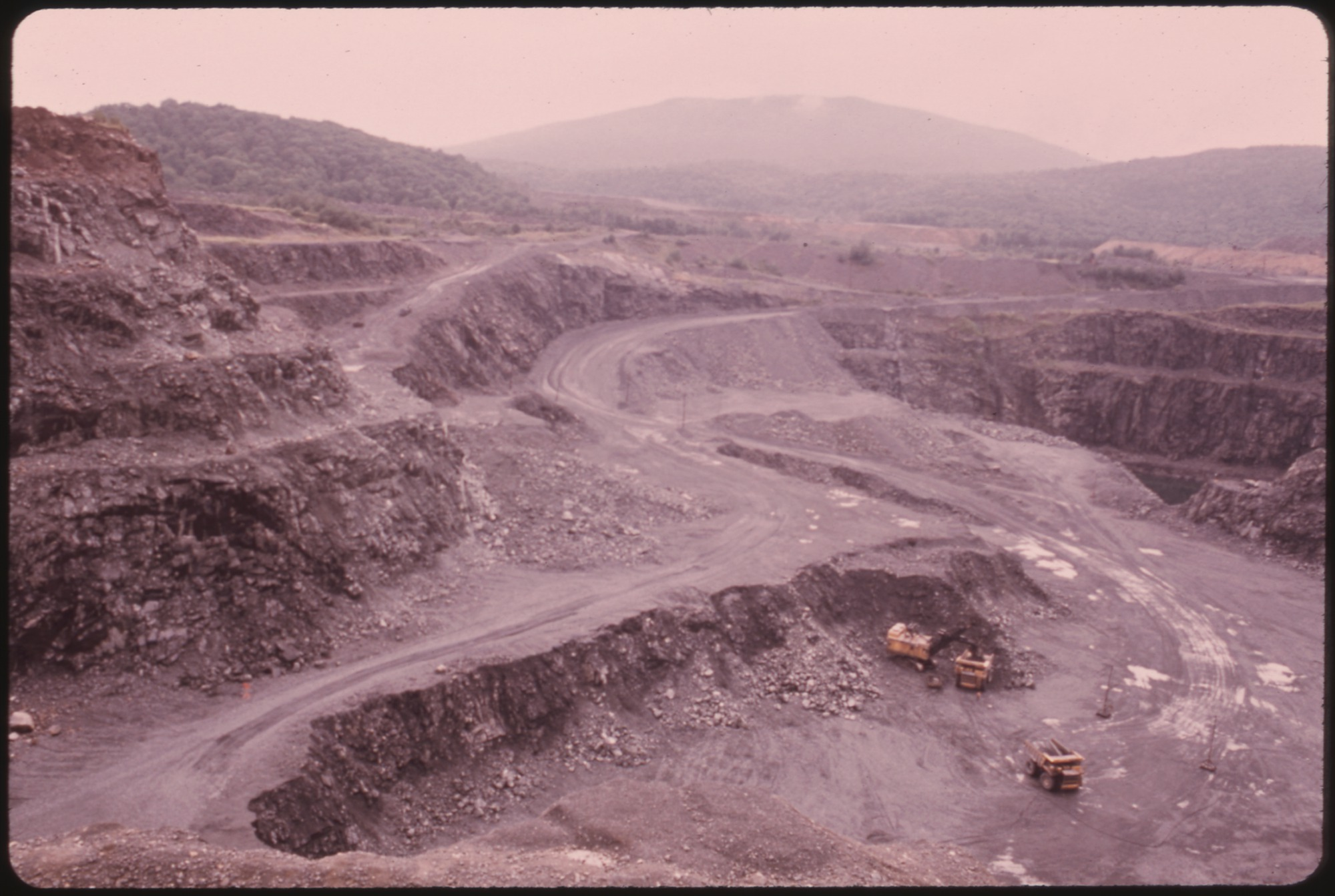 file ilmenite ore is mined with massive equipment which has resulted