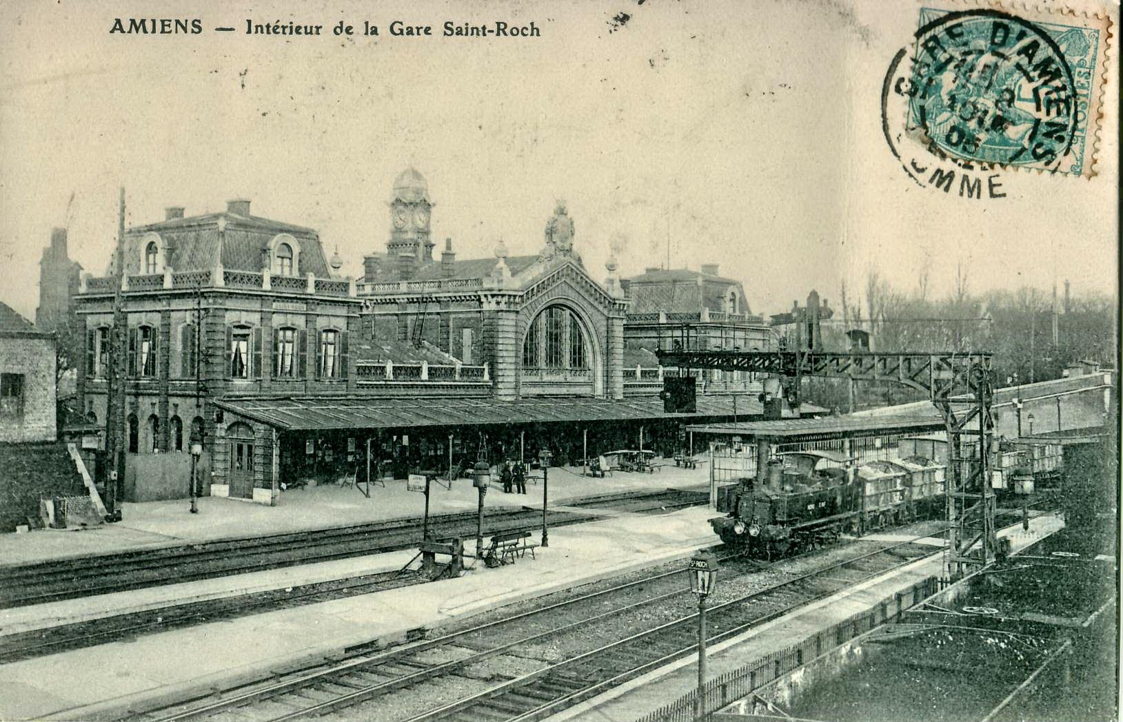 Map Gare Amiens Centre Ville