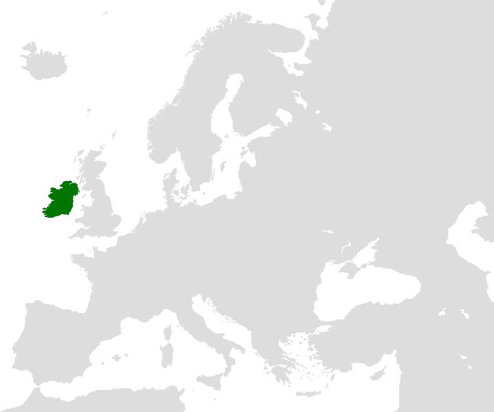 Flaga kraju Irlandia