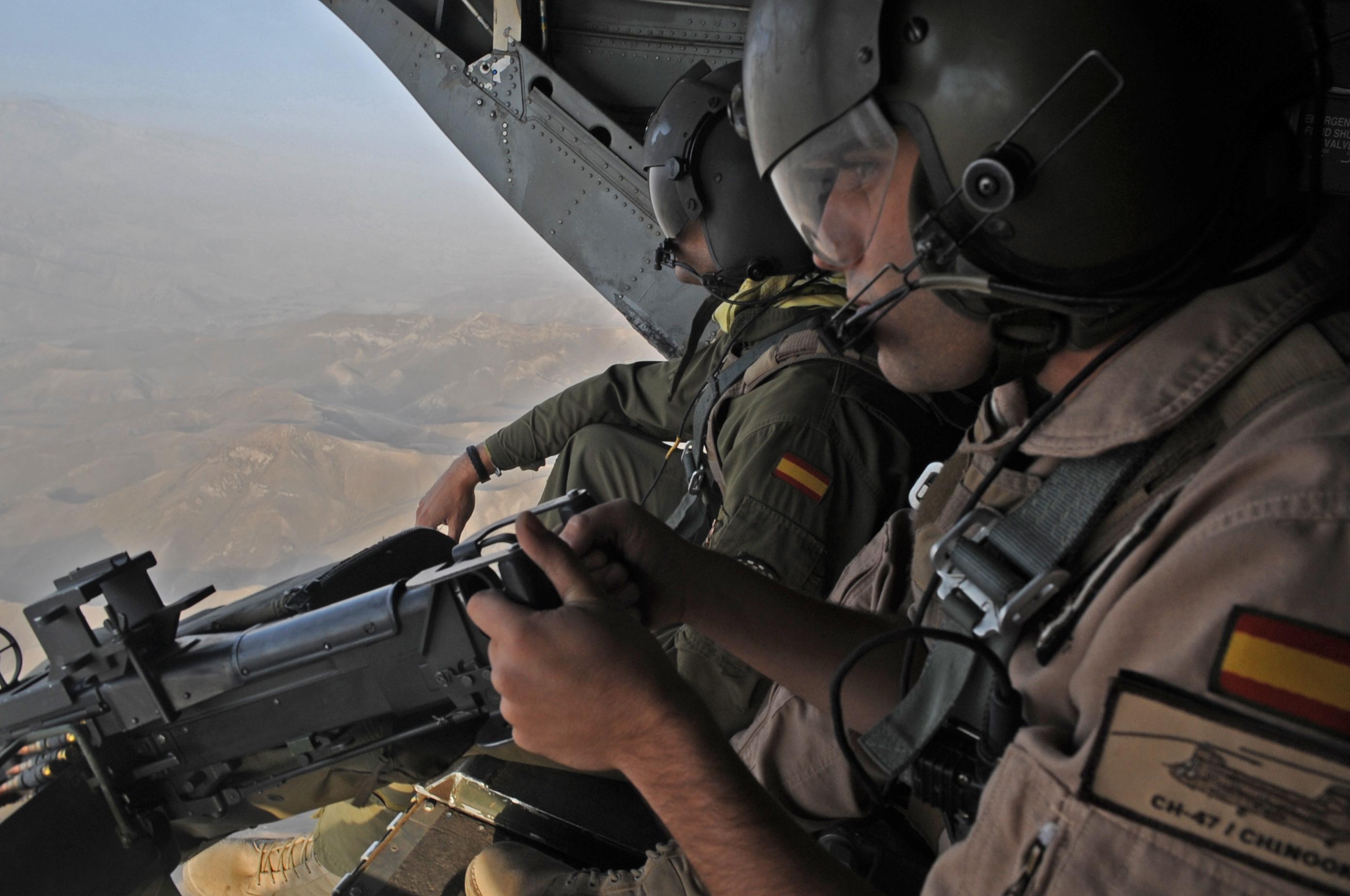 Contingent Espagnol Isaf_herat_Spanish_Army