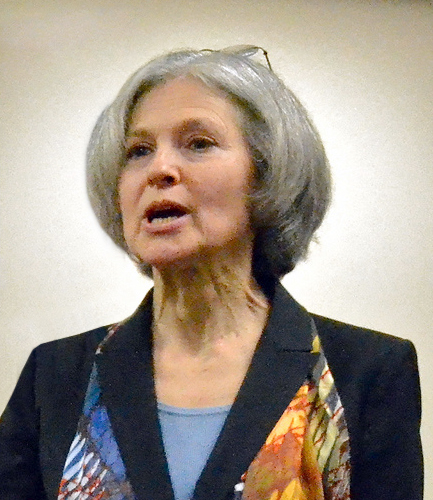Jill Stein, Green Party. Photo by ArdeeSN