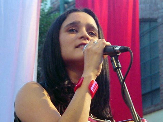 Julieta Venegas en 2000.