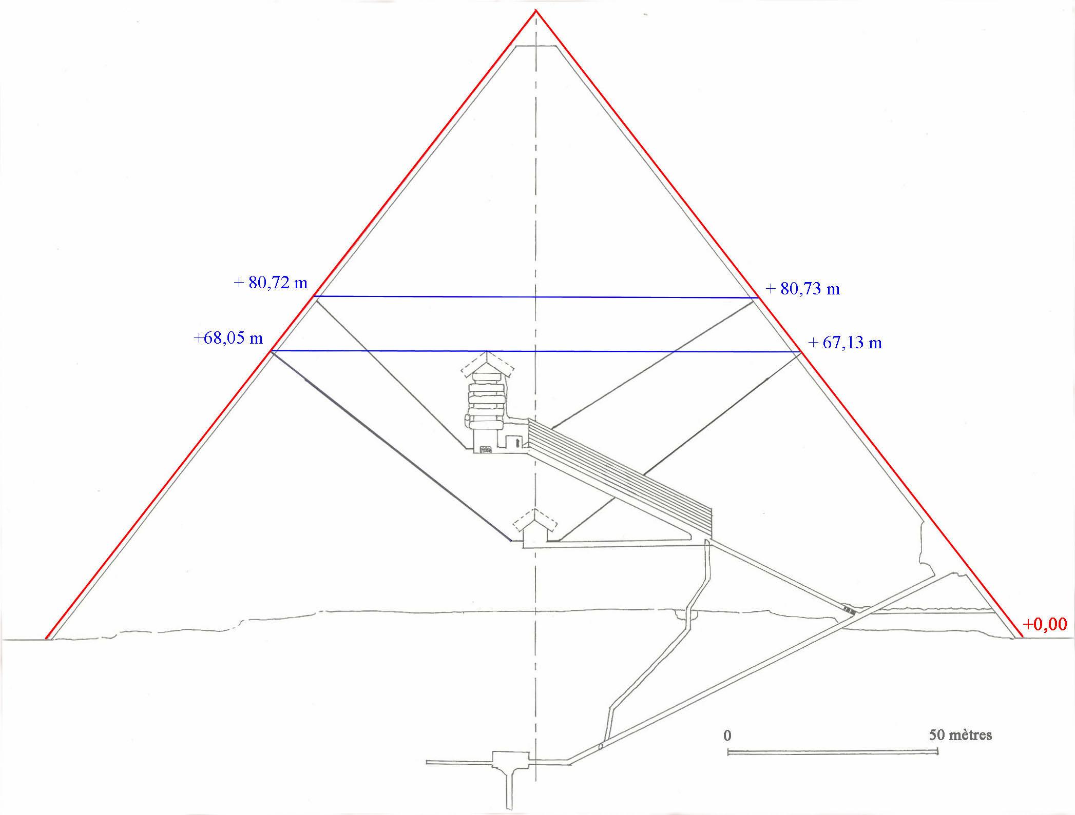 Как сделать пирамиду золотого сечения из бумаги схема