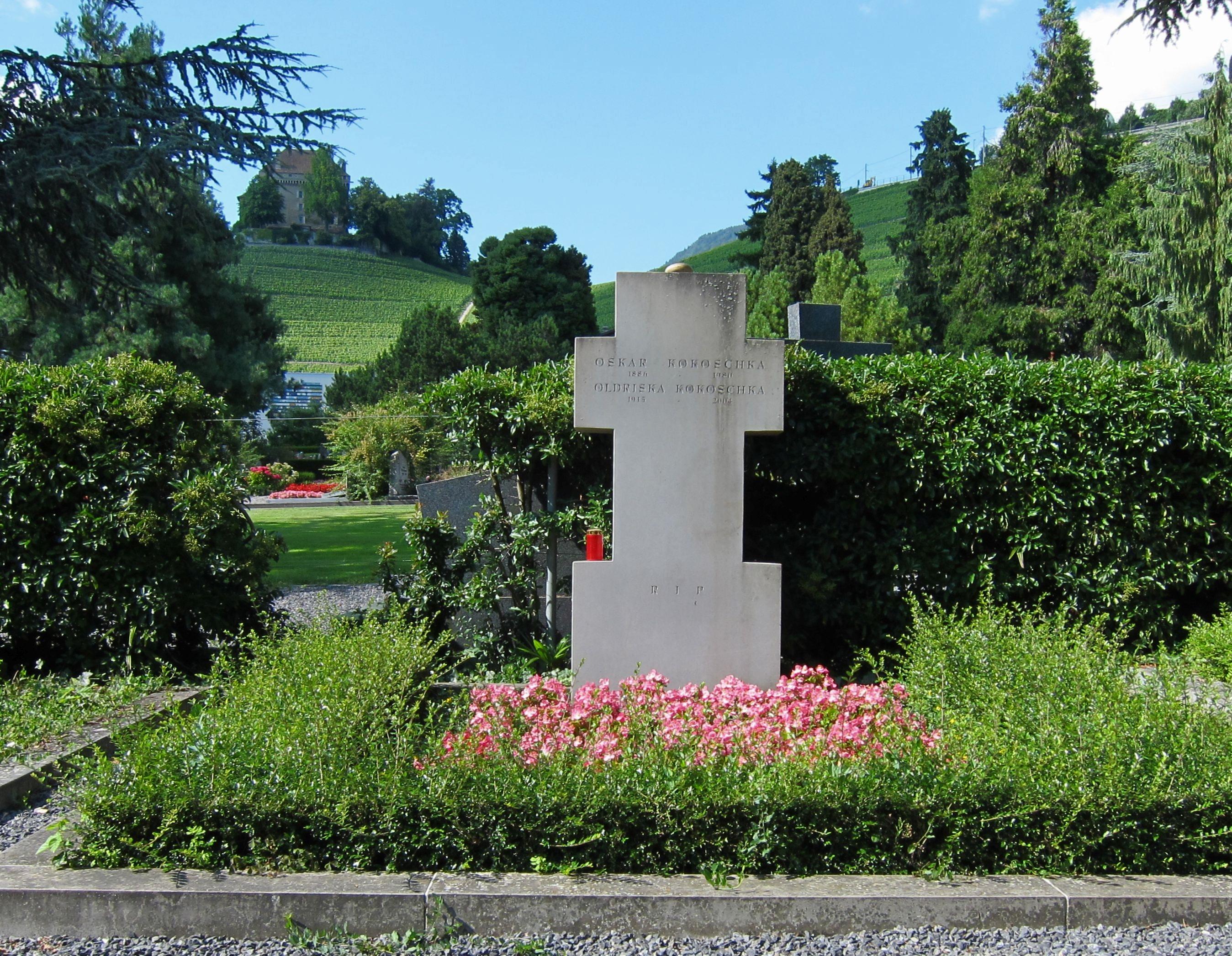 Grab von Oskar Kokoschka