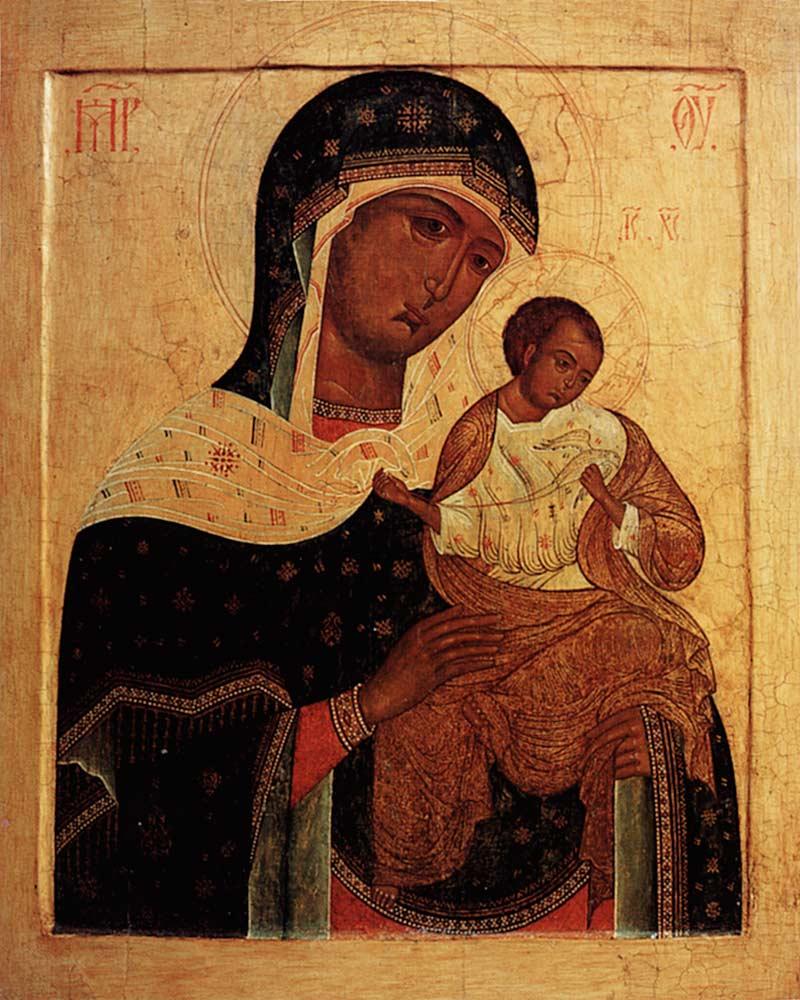 Коневская икона Божией Матери — Википедия