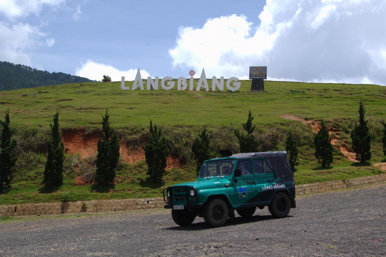 Lang Biang mountain 1 Du lịch Đà Lạt   Những điểm đến không thể bỏ lỡ
