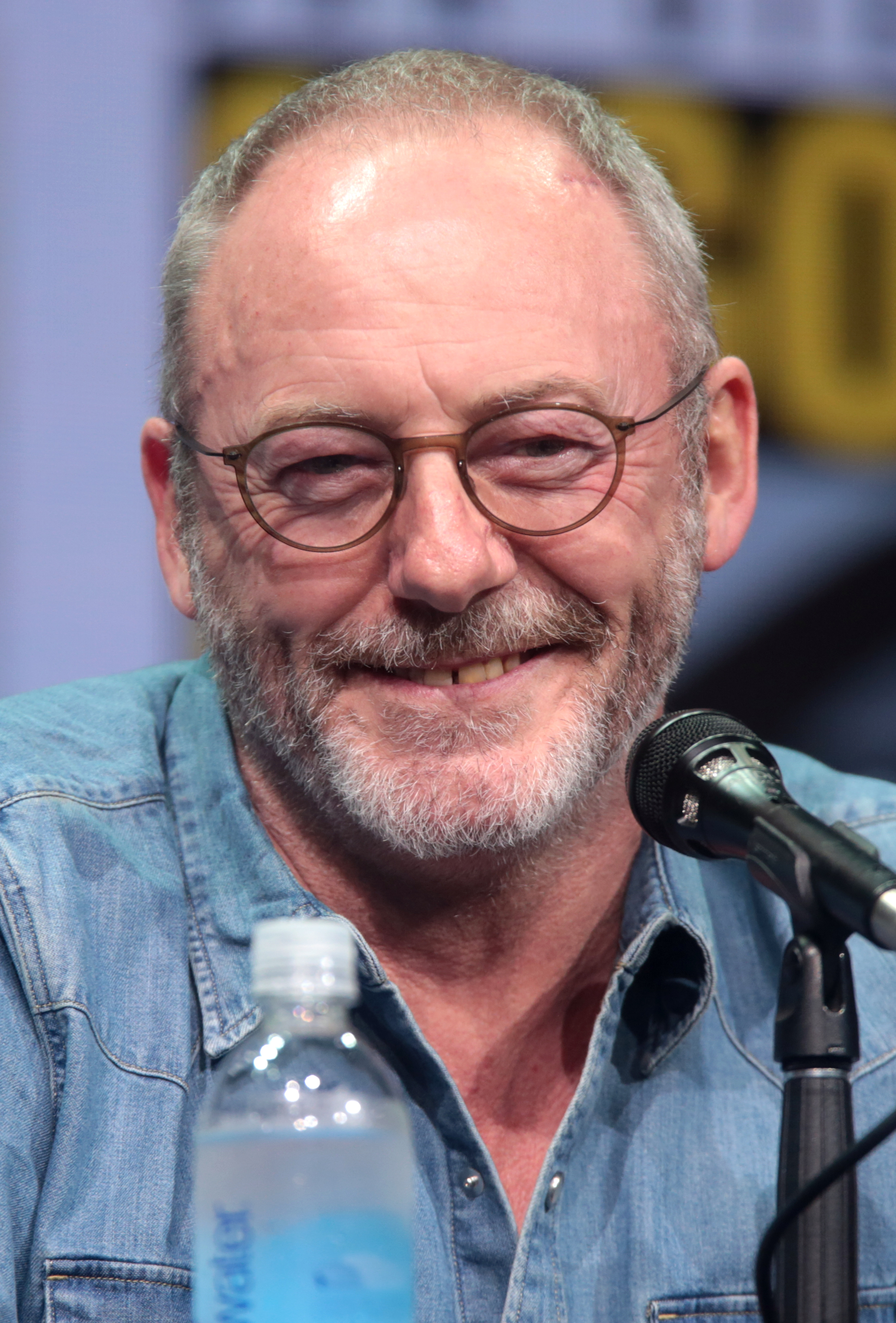 The 57-year old son of father (?) and mother(?) Liam Cunningham in 2018 photo. Liam Cunningham earned a  million dollar salary - leaving the net worth at 12 million in 2018