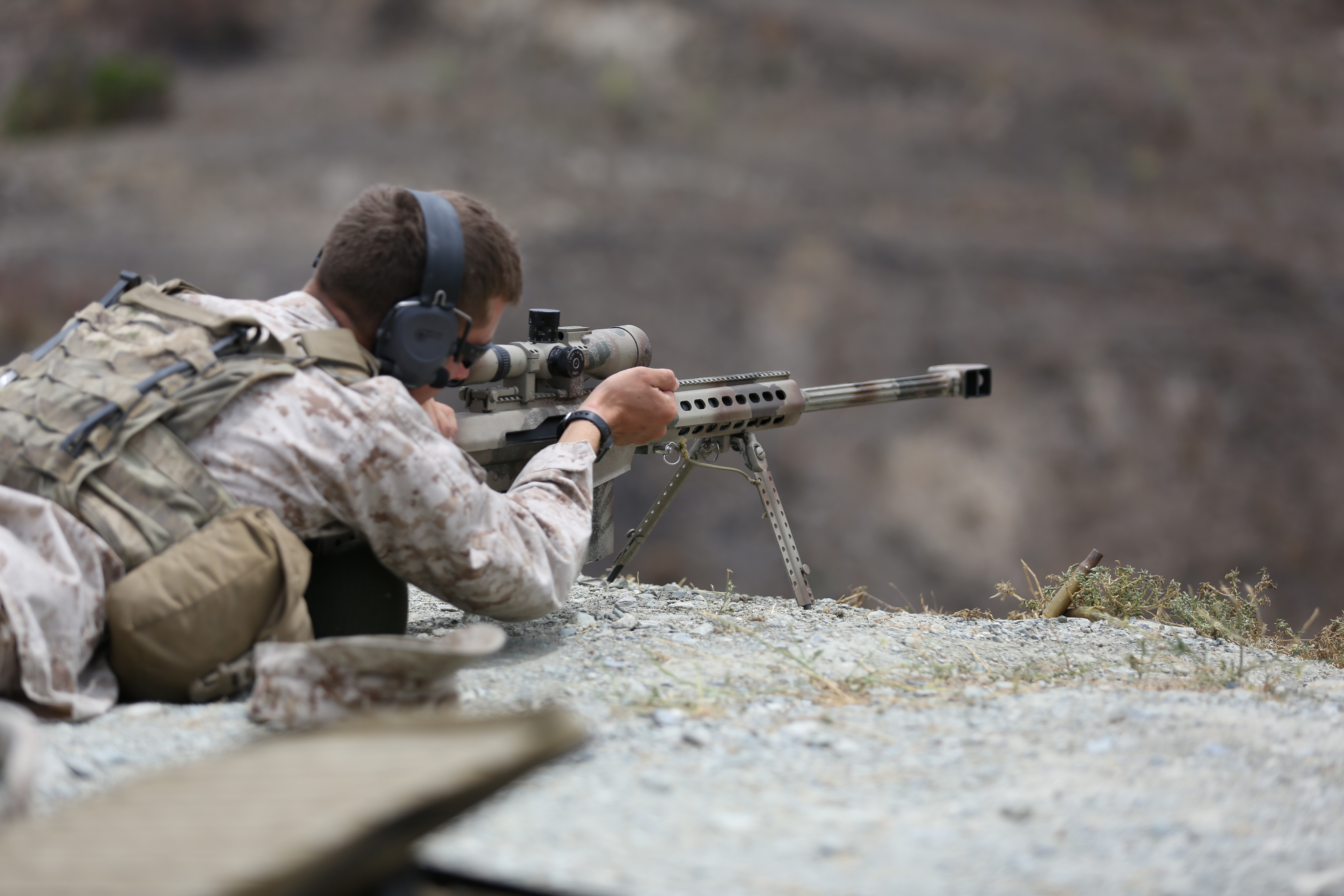 armys long serving sniper rifle - HD5760×3840