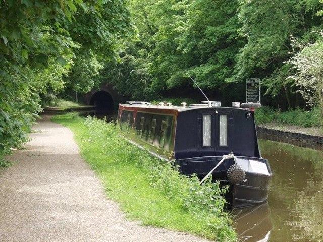 Llangollen canal at Pentre - geograph.org.uk - 586281