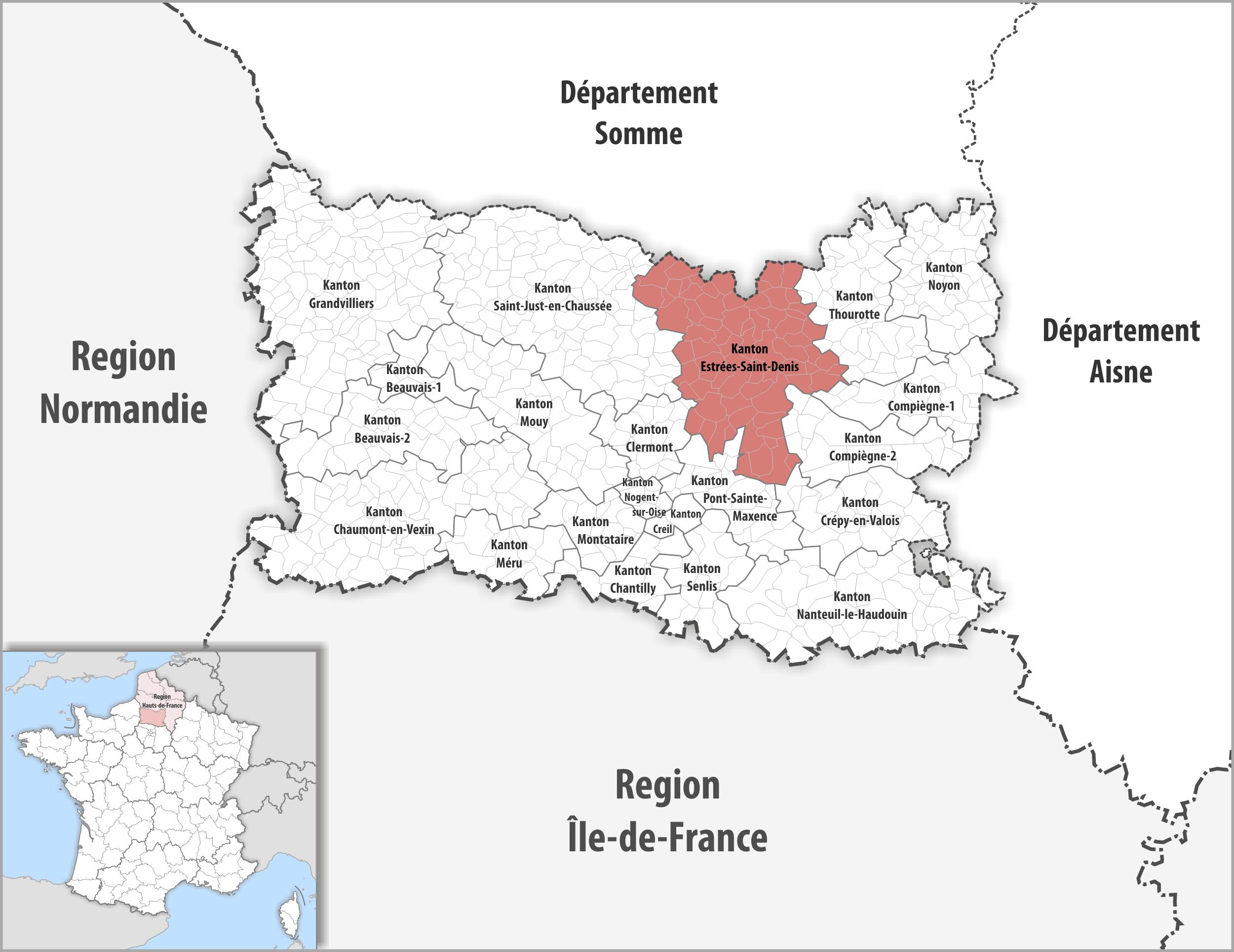 Saint Denis France Map.File Locator Map Of Kanton Estrees Saint Denis 2018 Png Wikimedia