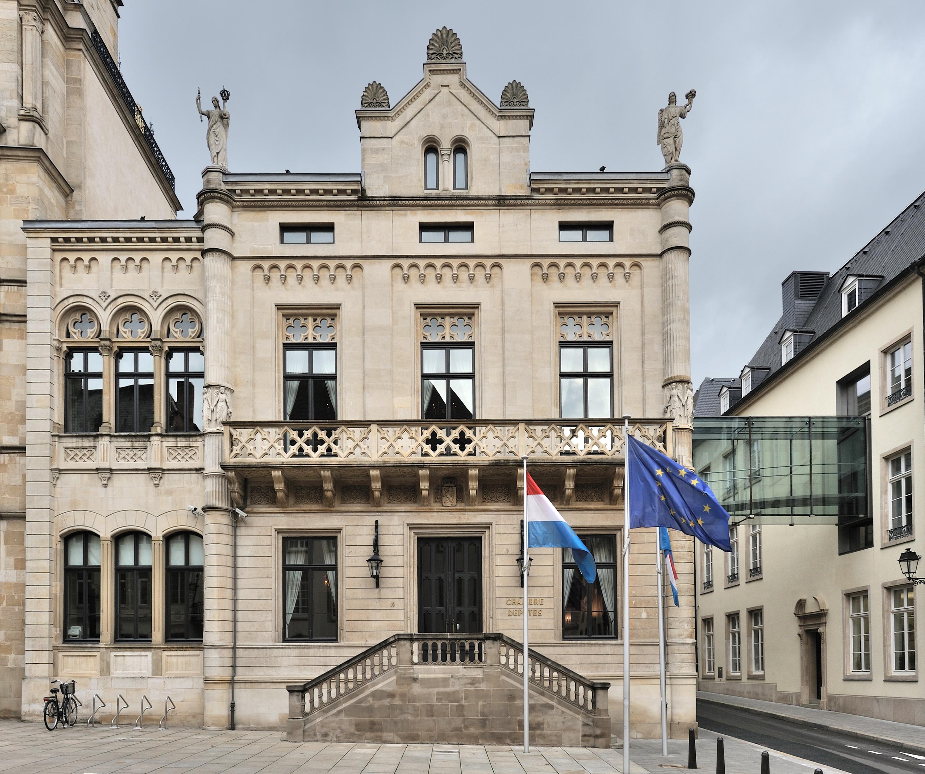 file luxembourg city chambre des d put s nov