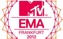 2012 MTV Europe Music Awards award ceremony