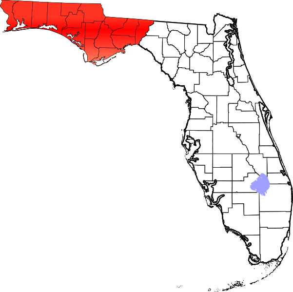 File Map Of Florida Highlighting Panhandle Png Wikimedia Commons