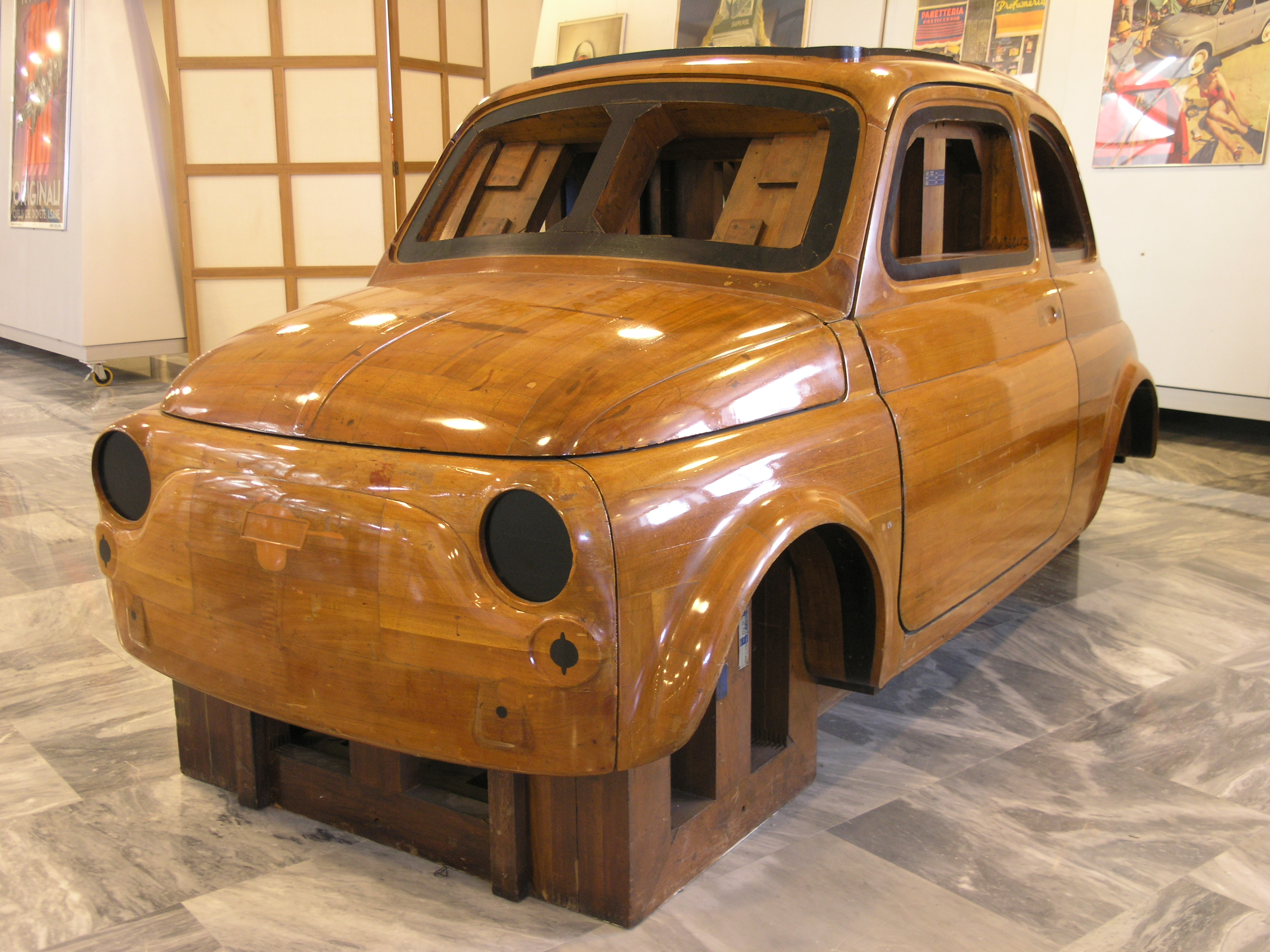 Classic Car Cardboard Cutouts
