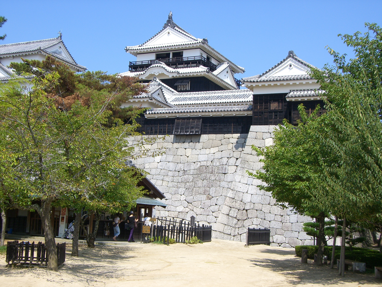 Matsuyama Castle Iyo Wikipedia