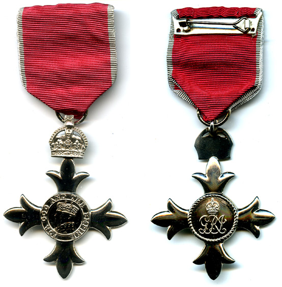 Значок Ордена Британской империи