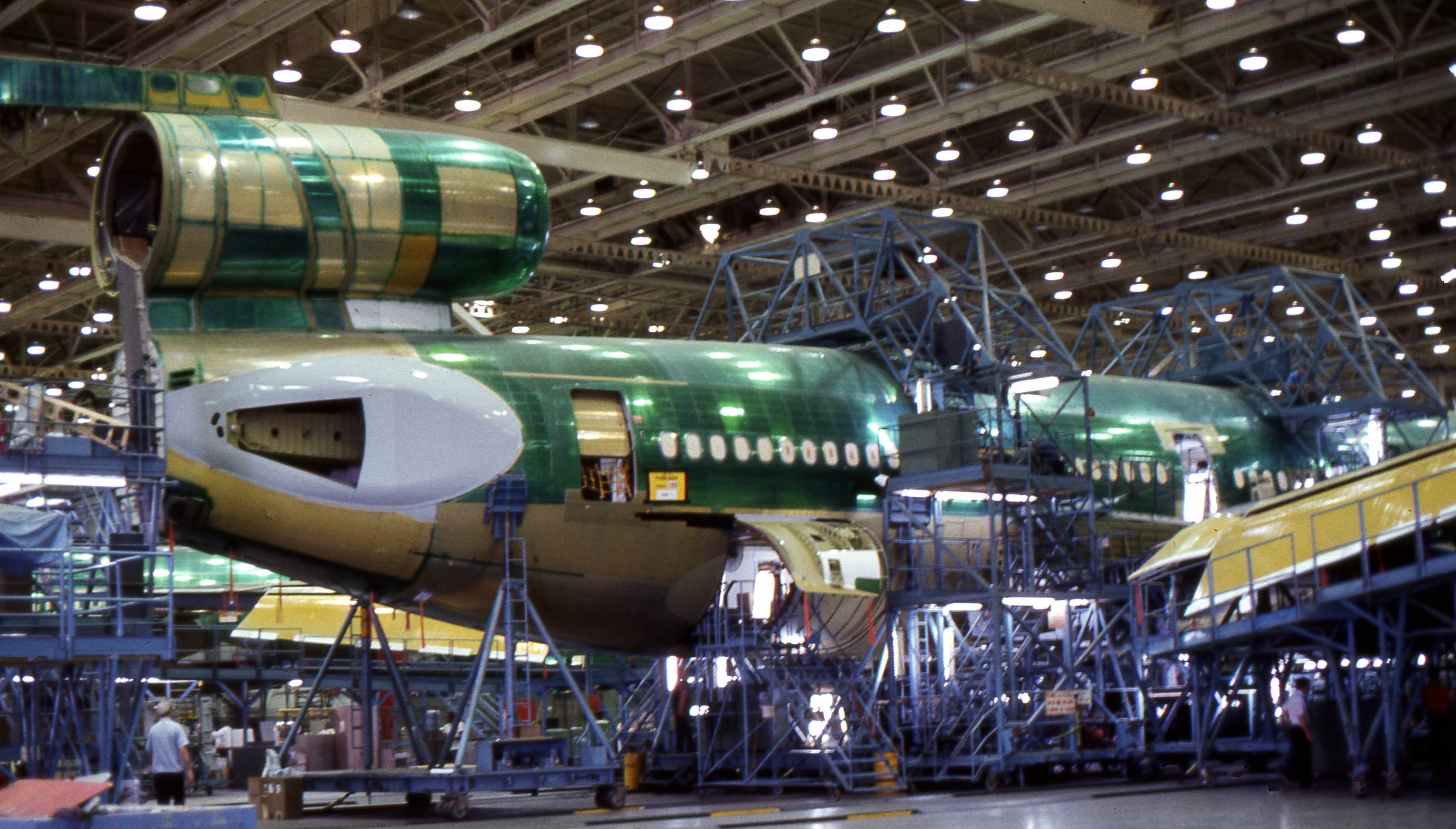 C  Production In Long Beach Boeing