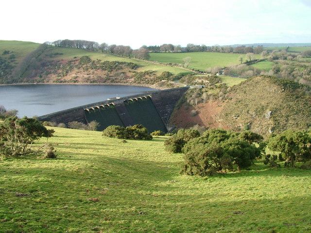 Meldon Dam - geograph.org.uk - 1624244