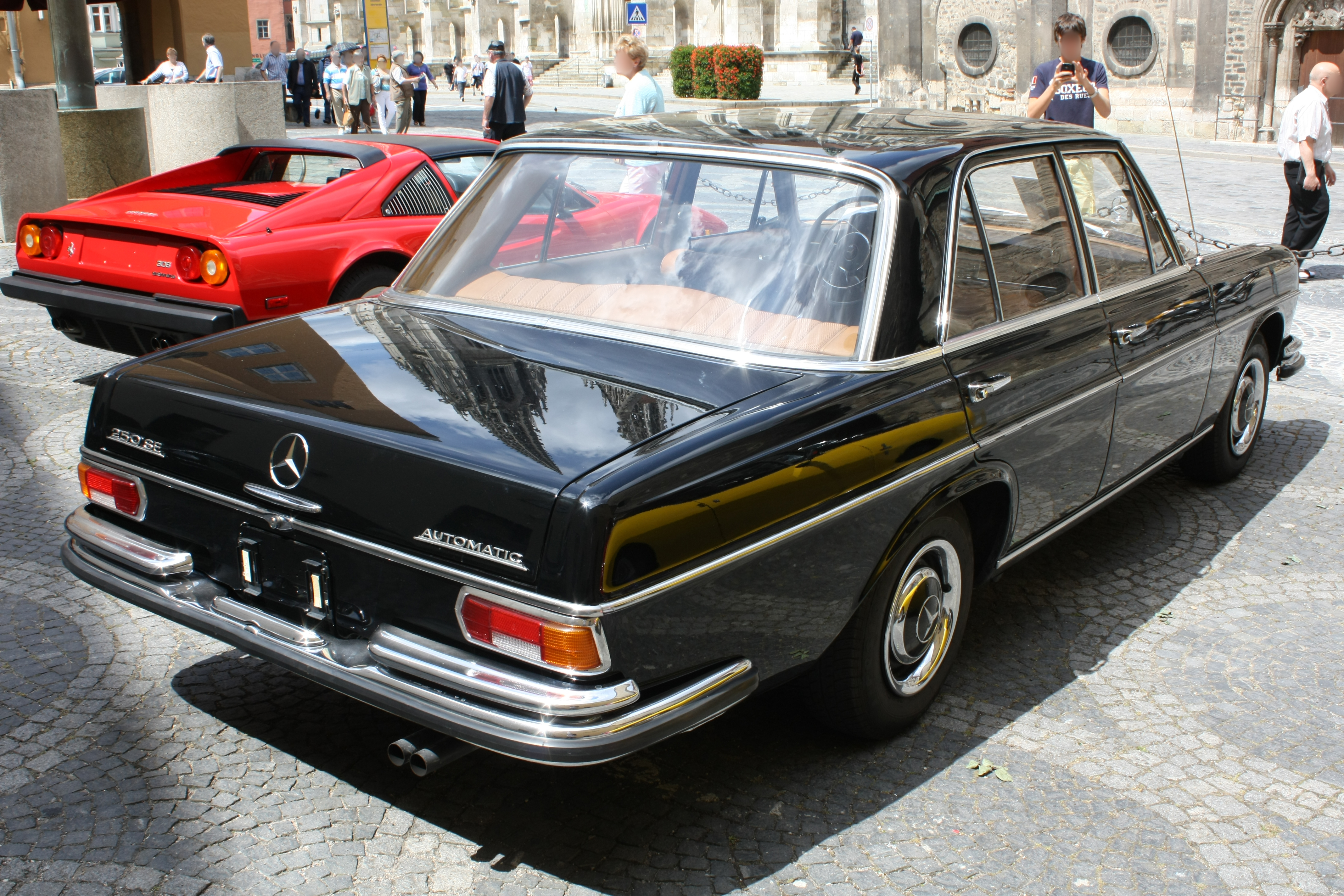 File mercedes benz w108 250se automatic for Mercedes benz 108