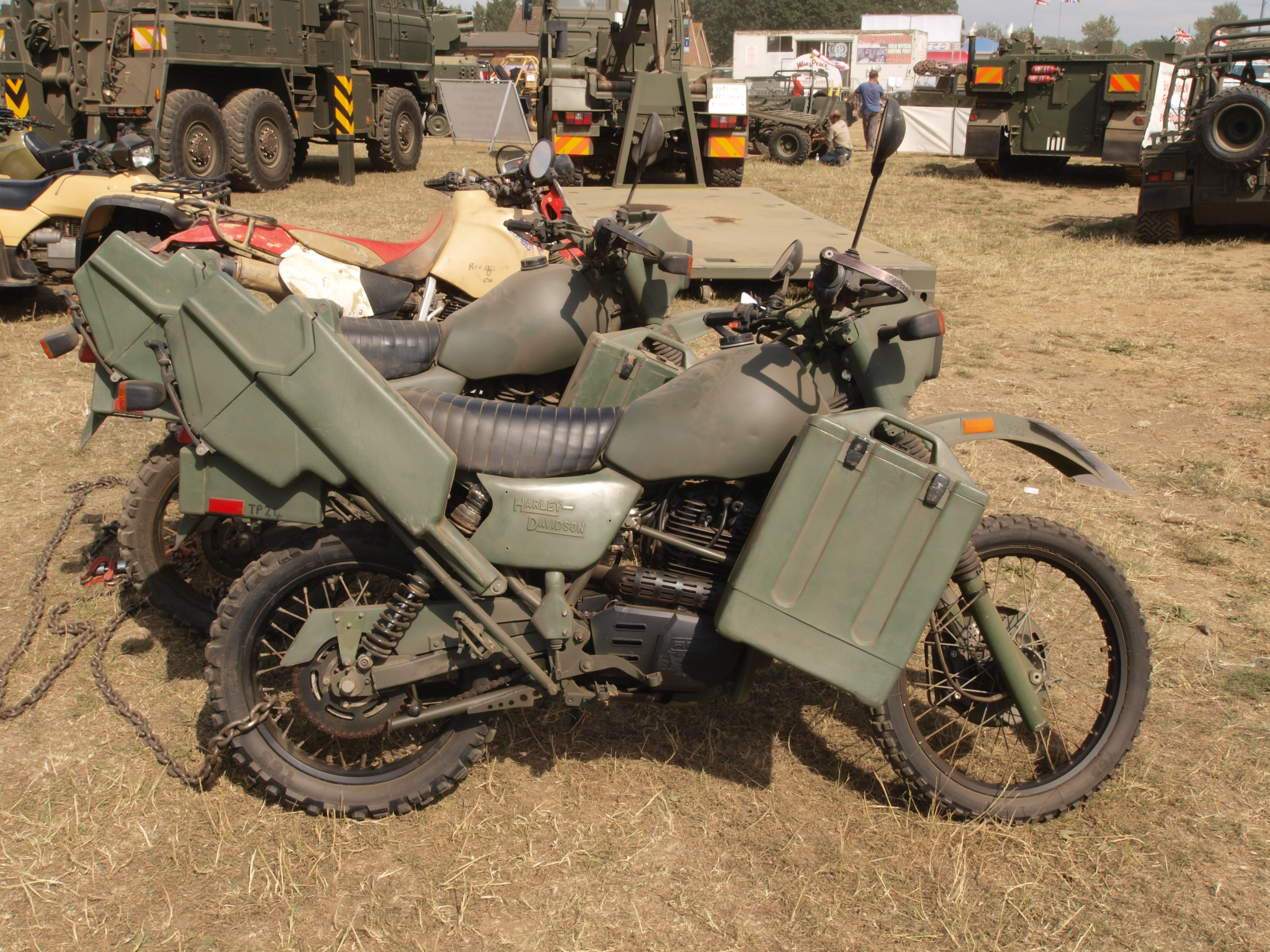 177a705d File:Military Harley Davidson motorcycles.JPG - Wikimedia Commons