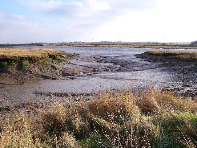 Milton Creek - geograph.org.uk - 646673